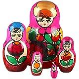 The Russian Store Flower Maiden Matryoshka Doll