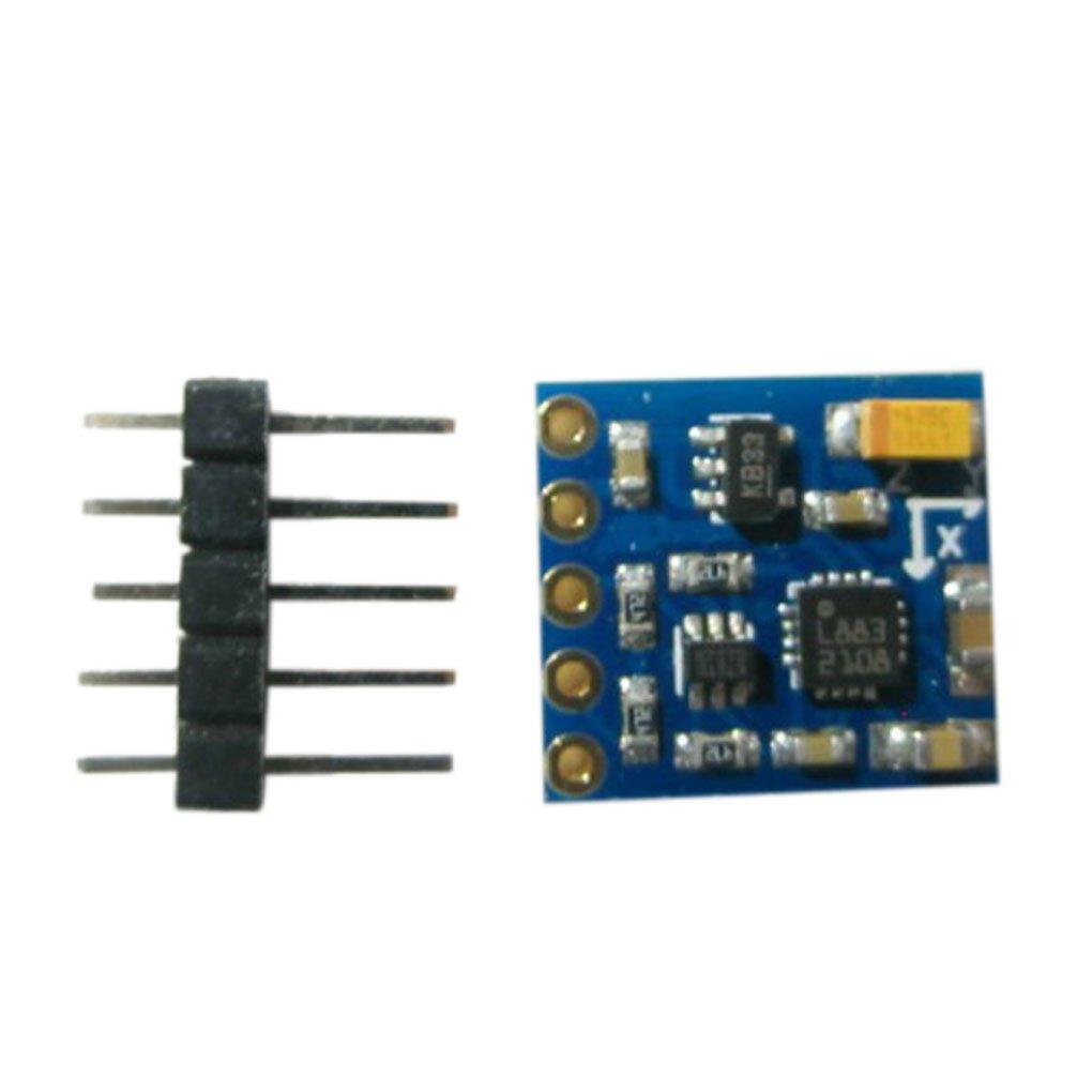 3 Achsen 12 Bit Gyroskop Kompass Beschleunigungssensor für Arduino IIC