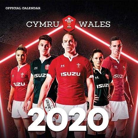 Gales RU Calendario 2020 Mercancía Oficial: Amazon.es: Deportes y ...