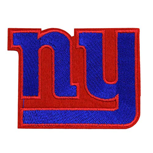 NFL New York Giants Emblem Insignia Badge Applique Iron On Sew Cutout Patch Logo DIY Craft