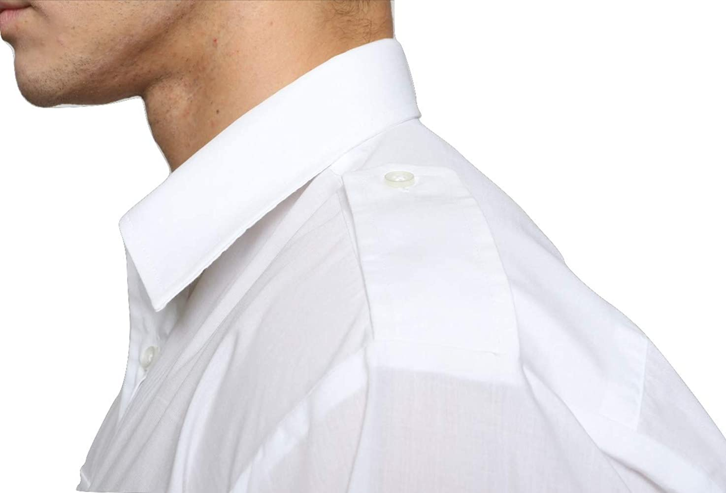 Mirabella Health & Beauty - Camiseta piloto de manga corta para hombre Blanco blanco 15: Amazon.es: Ropa y accesorios