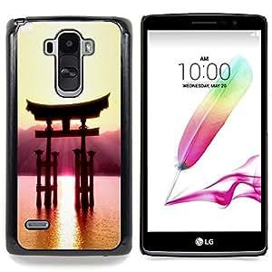 Beautiful Japanese Mountain Caja protectora de pl??stico duro Dise?¡Àado King Case For LG G Stylo / LG LS770 / LG G4 Stylus
