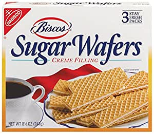 Biscos Sugar Wafers, 8.5-Ounce Boxes (Pack of 6)