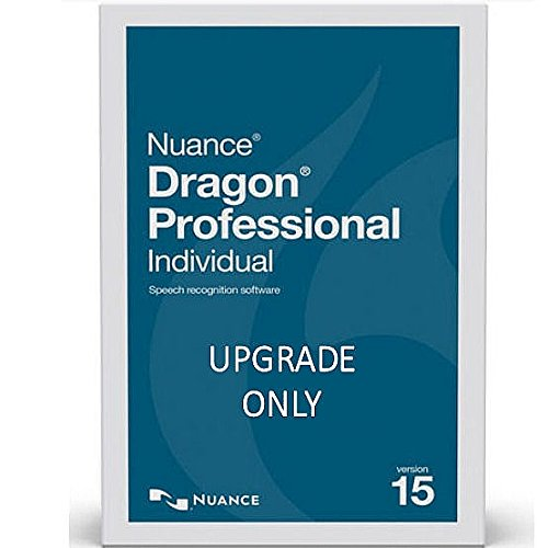 YBS Nuance Dragon Professional Individual Version 15 Upgrade from Premium 13 or 14 - Upgrade Only Electronic Download