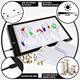 Flip Book Kit with Light Pad - A4 LED Light Box for Drawing and Tracing & 360 Sheets Animation Paper for Flip Books, A4 Flipbook Kit: Led LightBox/Light Tablet for Tracing, Flip Book Paper with Holes
