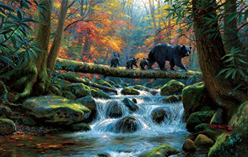 Precarious Crossing 1000 Piece Jigsaw Puzzle by SunsOut