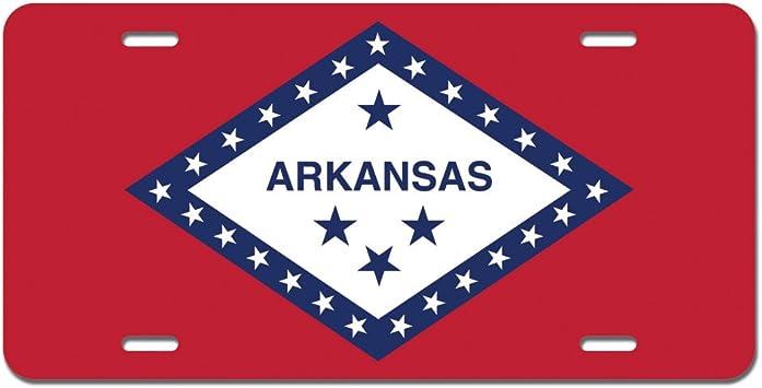 ALABAMA STATE LOVE AMERICAN FLAG METAL ALUMINUM CAR LICENSE PLATE TAG