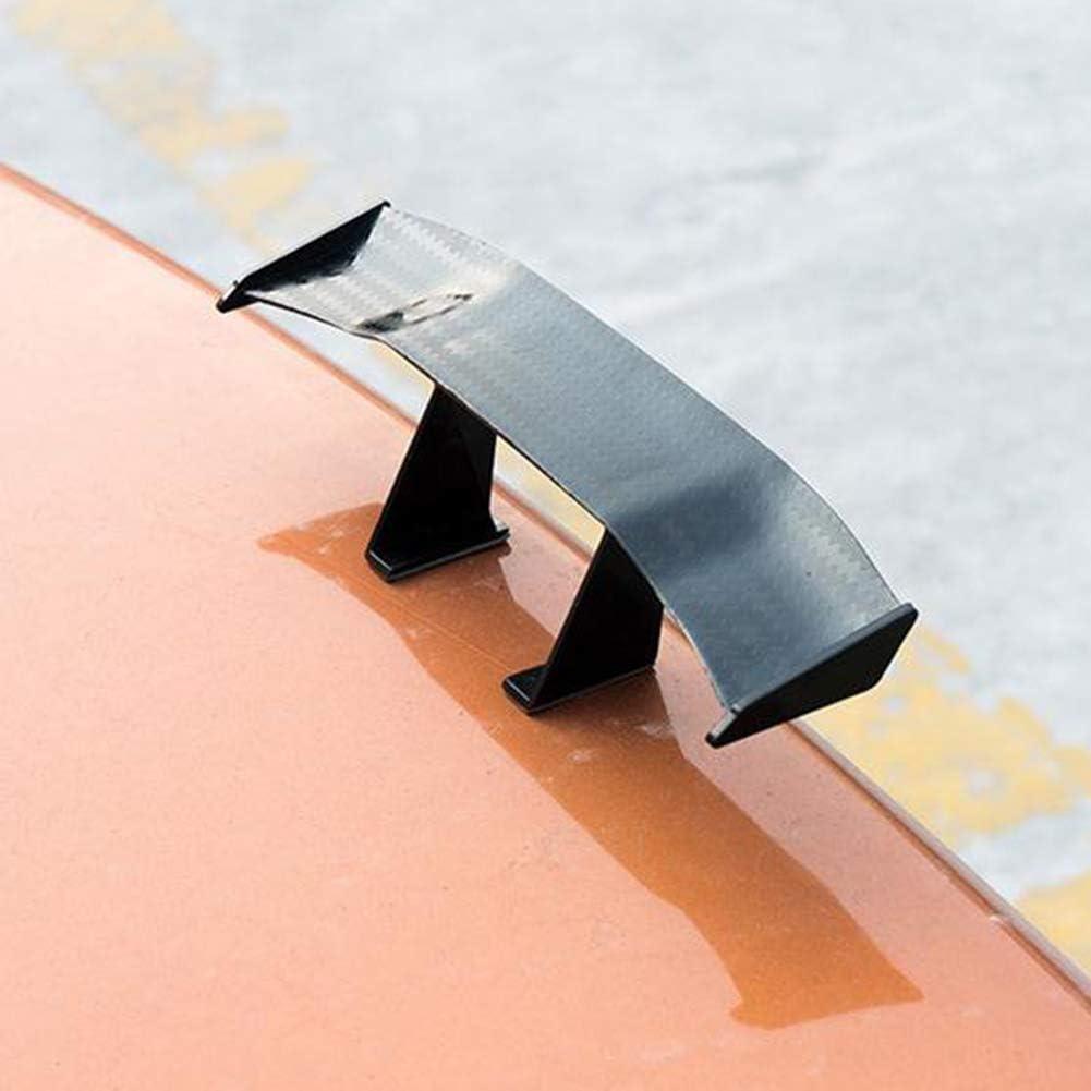 YTGOOD Car Tiny Tail Wing Black ABS Mini Rear Wing Spoiler Universal Car Refitting Tool