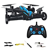 MASALING RC Quadcopter Drone Flying Car – Remote Control Helicopter Drone Toys for Kids with 3D Flip Headless Mode One-Key Return BONUS Battery Included