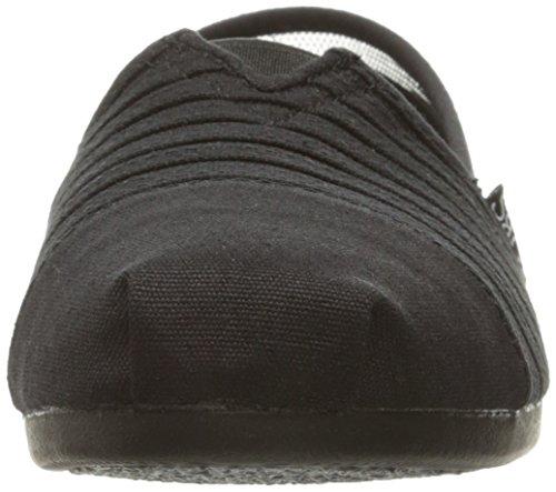 Skechers Bobs Van Vrouwen Pluche Mode Slip-on Mat Zwart / Zwart Adorbs