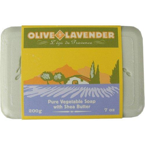 L'epi de Provence -Olive Lavender - Pure Vegetable Soap with Shea Butter
