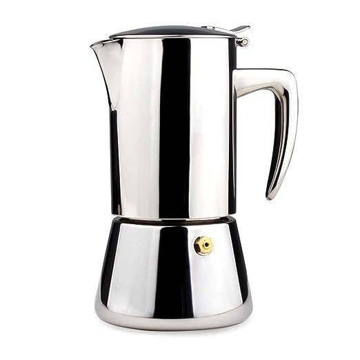 Yuqianjin Espresso Italiano Cafetera, Rapid quemadores café ...