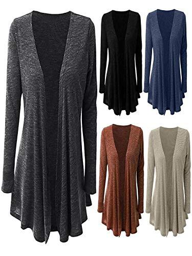 FRAUIT Damen Herbst Winter Mäntel Elegant Gothic Mäntel Kleider Trenchcoat  Lang Parka mit Asymmetrisch Saum Jacke eac093b9fc