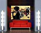 Samurai Champloo Anime Poster - Jin Mugen Giant Art Print MR085