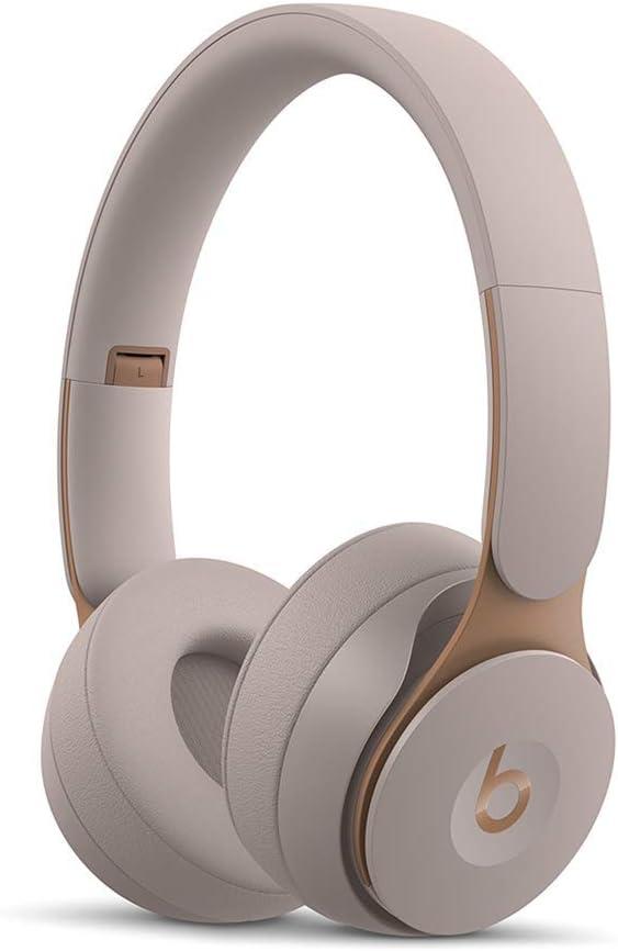 Beats Solo Pro Wireless Noise Cancelling On-Ear Headphones - Grey