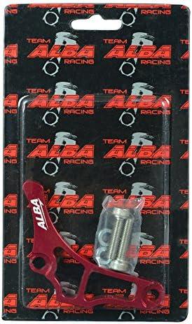Yamaha YFZ 450   YFZ450   Case Saver  Billet Aluminum  Alba Racing  Red 199 T6 R