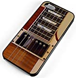 iPhone Case Fits Apple iPhone 7 PLUS 7+ Electric Guitar Garage Band Black Rubber
