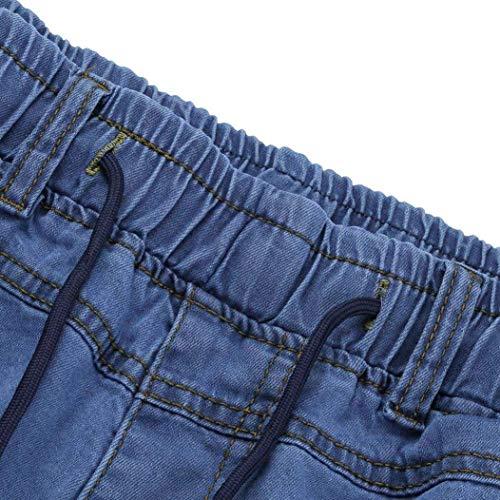 Nero Jeasns Classiche Uomo Chino Ragazzi Jeans Skinny Slim Fashion Da Fit Pantaloni w0xTzWEPnx