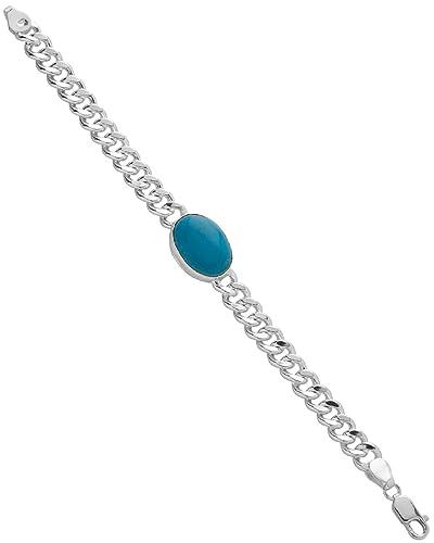 Sharvari Salman Khan Blue Stone Classic 925 Silver Bracelet Amazon