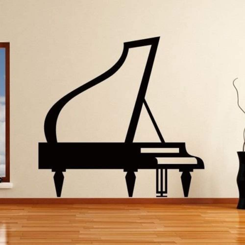 ljradj Pegatinas de Pared de Piano de Cola para Instrumentos ...
