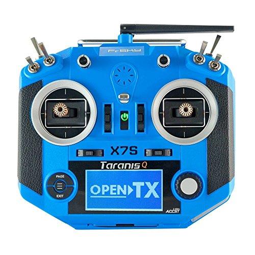 FrSky Taranis Q X7S Radio 2.4GHz 16CH w/ Upgraded M7 Hall Sensor Gimbals (Blue)