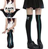 SSJ Kagerou Project Takane Enomoto Cosplay Socks Actor Stockings Cosplay (black)