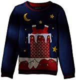 Product review for Blizzard Bay Big Boys' Santa Stuck Light up Xmas Sweater