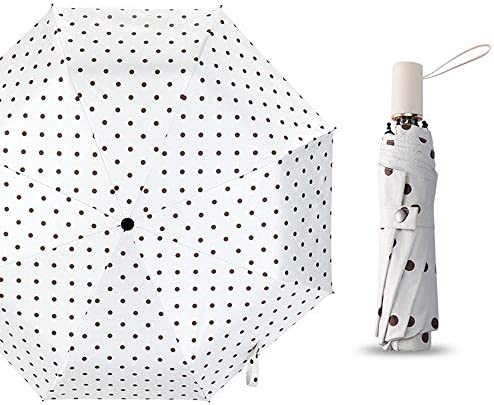 【2019最新版】日傘 折りたたみ傘 UVカット 日傘 100%遮光 折り畳み日傘 レディース 軽量 晴雨兼用 折りたたみ傘 耐風撥水 収納ポーチ付 (2色)
