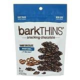 Bark Thins Dark Chocolate - Pretzel With Sea Salt - Case Of 12 - 4.7 Oz.