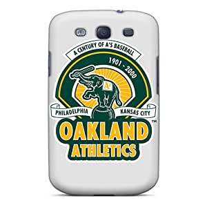 Great Hard Phone Covers For Samsung Galaxy S3 (Yvg18287nwbz) Allow Personal Design High-definition Oakland Athletics Pattern