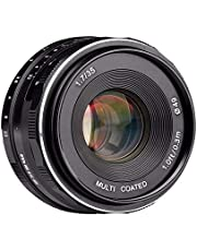 Generic Meike MK-FX-35-1.7 35mm f 1.7 Large Aperture Manual Focus lens APS-C For Fujifilm Mirrorless cameras XT1 X-E1 etc