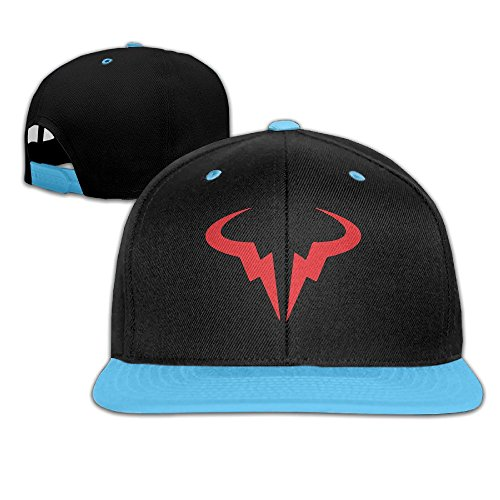 WYUZHEN Kid's Rafael Nadal Logo Hip-hop Snapback Hat Caps (Grand Slam Costume Baseball)