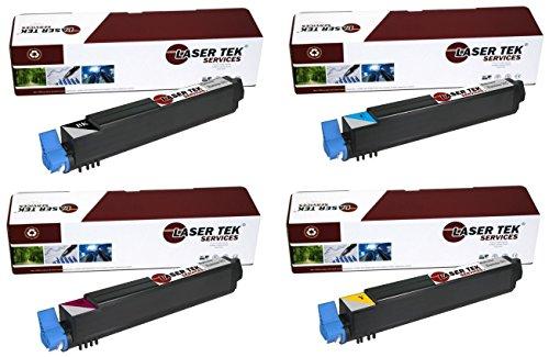 Laser Tek Services ® 4 Pack High Yield Toner Cartridge fo...