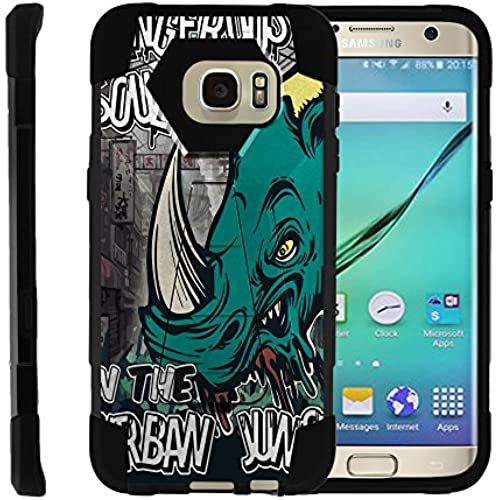 Samsung Galaxy S7 Edge | SHOCK Series Impact Hard Rubber Durable Unique Creative Cover, by Miniturtle - Urban Sales