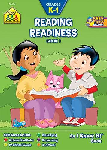 Reading Readiness Workbook Bk 1 Grades K-1 (I Know It - K1 Book