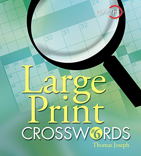 graphic regarding Thomas Joseph Crossword Puzzles Printable Free referred to as Superior Print Crosswords #6: Thomas Joseph: 9781402734038