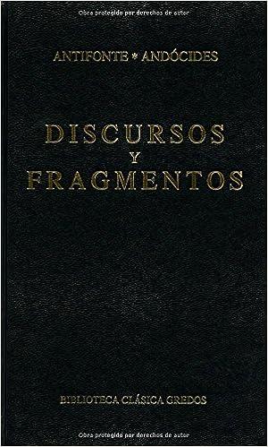 Fragmentos y discursos (B. CLÁSICA GREDOS)