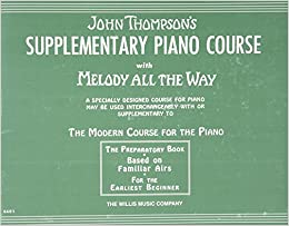 thompsons supplementary piano course with melody all the way book 3 b
