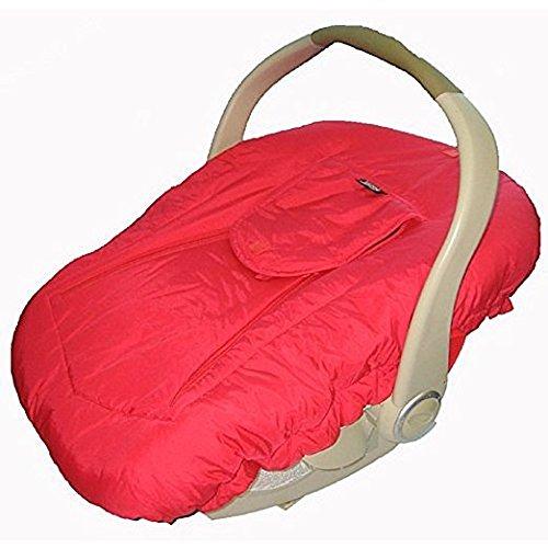 54de8d8acd22 Jolly Jumper Arctic Sneak A Peek Infant Car Seat Cover Red