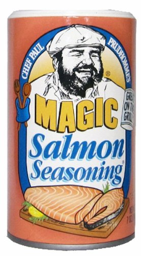 Chef Paul Prudhomme's Magic Salmon Seasoning - 7 oz - Chef Paul Seasoning