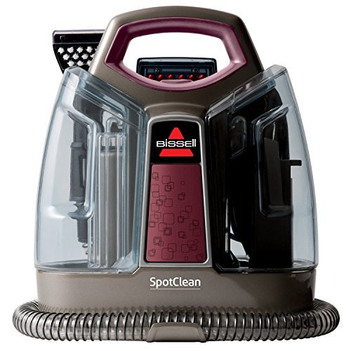 Bissell Portable Professional Deep Carpet Cleaner with All NEW Heat Wave Technology Deep Reach Tool with Strong Suction, Removable Large Water Tanks by Bissell