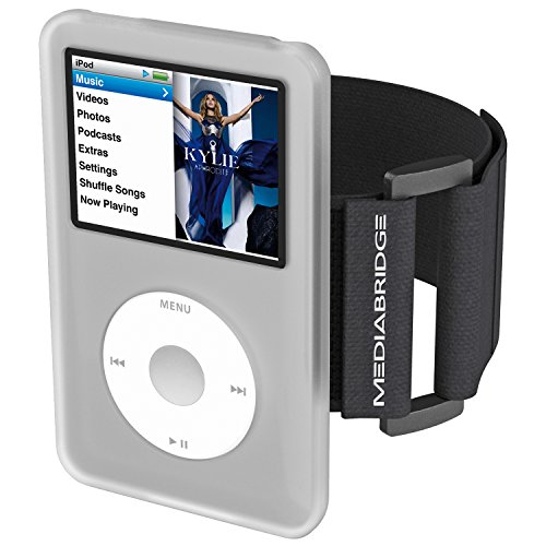 Mediabridge Armband for iPod Classic - 7th Generation (Clear) - Model AB1 - (Part# AB1-IPC7-CLEAR (Large Ipod Case)