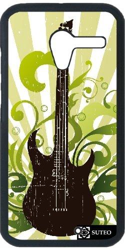 Funda para Motorola Moto X - Guitarra eléctrica en un fondo verde ...