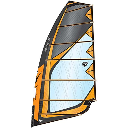 Aerotech Sails 2017 Rapid Fire 9.0m Orange Windsurfing Sail by Aerotech Sails