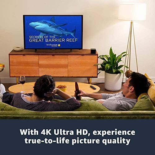 Fire TV Cube, hands-free with Alexa built in, 4K Ultra HD, streaming media player, released 2019 51Ux7JCH0tL