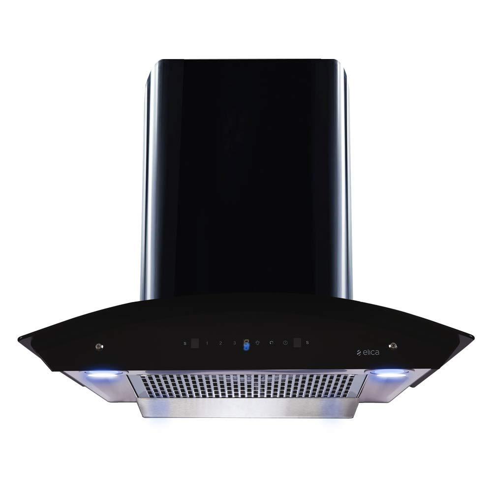 Elica 60 cm 1200 m3/hr Filterless Auto Clean Chimney