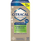 Citracal Plus Magnesium with Vitamin D3, 120 Coated Tablets