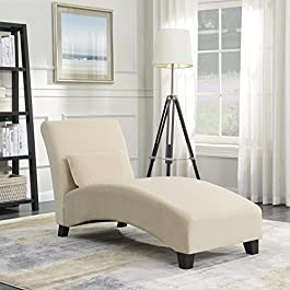 Belleze Chaise Lounge Indoor Furniture Living Room...