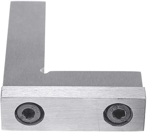 100x70mm,100x70mm 75x50 Ingeniero escuadra de 90 grados de /ángulo recto con asiento rectificado de precisi/ón Regla de acero endurecido /ángulo 50x40