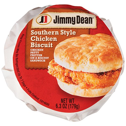 Jimmy Dean Southern Style Chicken Biscuit Sandwich, 6.3 oz., 12 per case (Style Chicken Southern)